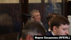 Сергей Калинкин в зале суда