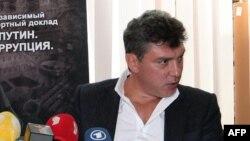 Российский оппозиционный политик Борис Немцов.