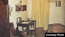 """Muzeul Național """"George Enescu"""", Casa Memorială, Camera lui G. Enescu (Sursă: Georgeta Filitti, Palatul Cantacuzino. Istoria unei case, 2011)"""