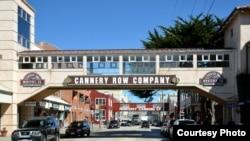 Улица Cannery Row. Монтерей, Калифорния