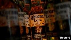 Group Modelo эгалик қилувчи машҳур Corona/Корона пивоси.