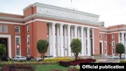 Бинои парлумони Тоҷикистон.
