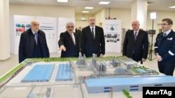 Prezident İ.Əliyev Sumqayıtda «SOCAR Polymer»in yüksəksıxlıqlı polietilen zavodunun açılışında