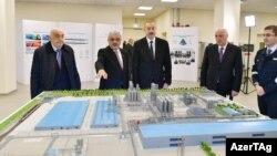 Prezident İ.Əliyev Sumqayıtda SOCAR Polimer zavodunun açılışında