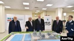 Prezident İlham Əliyev Sumqayıtda zavod açılışında
