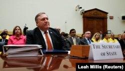 Майк Помпео виступає на слуханнях комітету Палати представників Конгресу США з закордонних справ, Вашингтон, 23 травня 2018 року