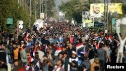 Демонстрация шиитов в Багдаде