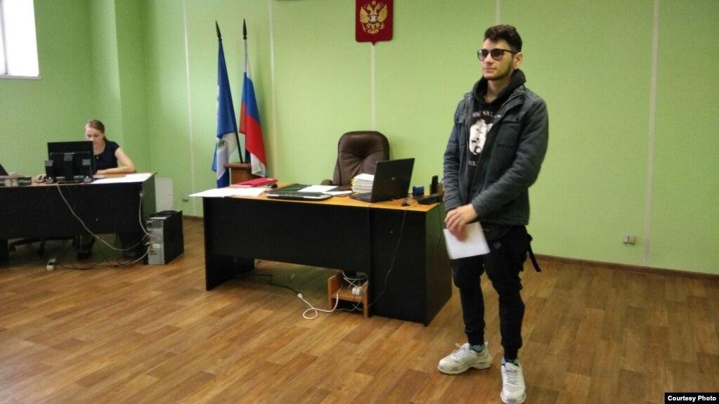 Дмитрий Литвин в зале суда