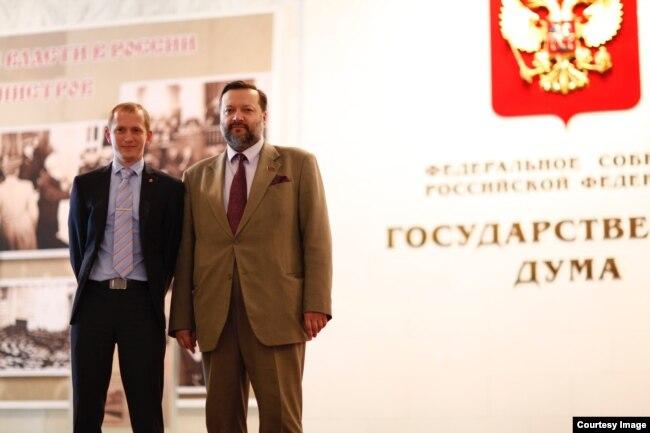 Сергей Мельник и депутат Павел Дорохин
