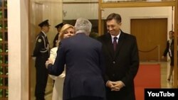 Predsednica Hrvatske Kolinda Grabar Kitarović, predsednik Srbije Tomislav Nikolić i predsednik Slovenije Borut Pahor u Zagrebu 25. novembra 2015