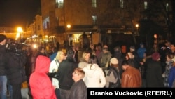 Sa protesta u Kragujevcu, foto: Branko Vučković
