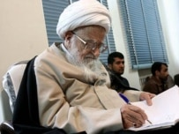 Grand Ayatollah Safi Golpayegani (Fars file photo)