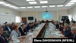 Стороны договорились в 2019 году выделить в Абхазии опытные площади с посадками ореха и провести апробацию микробиологических препаратов