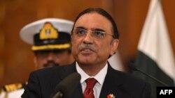 Президент Пакистана Асиф Али Зардари. Исламабад, 22 мая 2013 года.