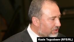 Israeli Foreign Minister Avigdor Lieberman