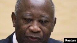 Лоран Гбагбо, бывший президент Кот-д'Ивуара.