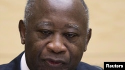 Экс-президент Лоран Гбагбо