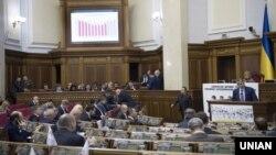 Седница на украинскиот парламент на 21 октомври 2016