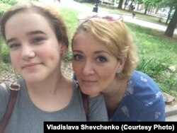 Анастасия с дочерью Владой
