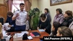 """Вкладчики ИК """"ТФБ Финанс"""" в Прокуратуре Татарстана"""