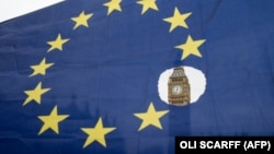 Zastava EU, London