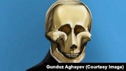 The Troller in Chief (cartoon by Azerbaijani artist Gunduz Aghayev)