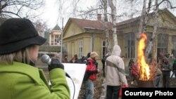 """Zauzimanje kasarne """"Arčibald Rajs"""" U Novom Sadu"""