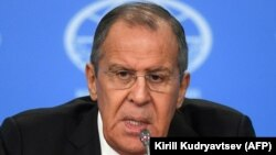 Russiýanyň daşary işler ministri Sergeý Lawrow