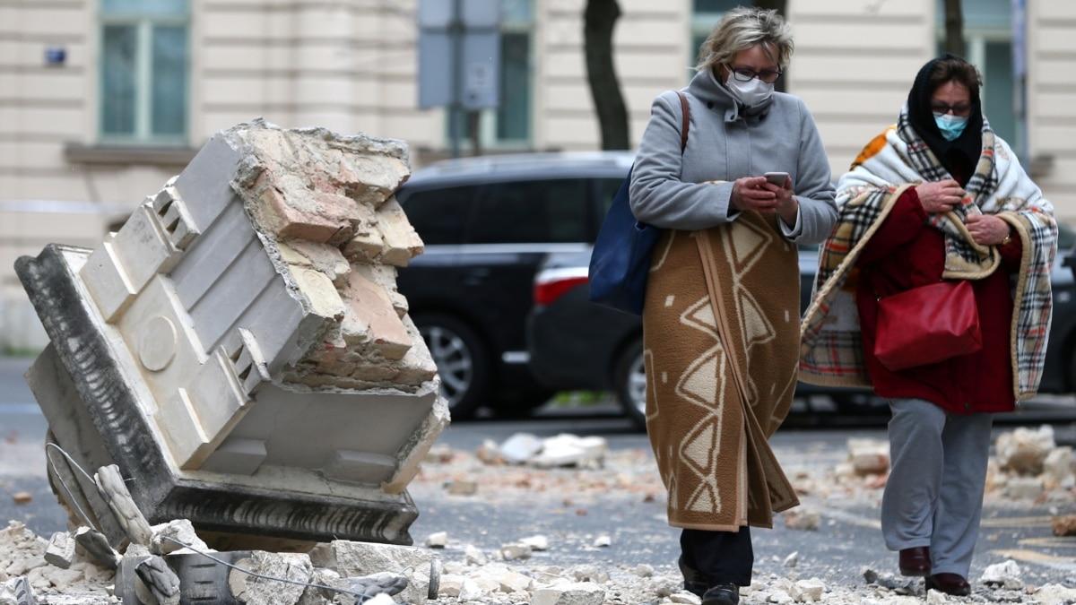 В центральной Хорватии произошло землетрясение силой в 5,3 балла