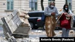 Пошкоджені численні будинки й автомобілі, деякі частини міста тимчасово знеструмлені, водопаостачання припинене