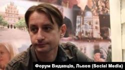 Сергей Жадан на Львовском книжном форуме