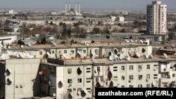 Жилые дома в Ашгабате. Иллюстративное фото.