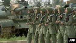 في معسكر اشرف لمجاهدين خلق