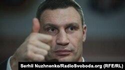 Віталій Кличко каже, що готовий «підставити своє політичне плече» Міхеїлу Саакашвілі