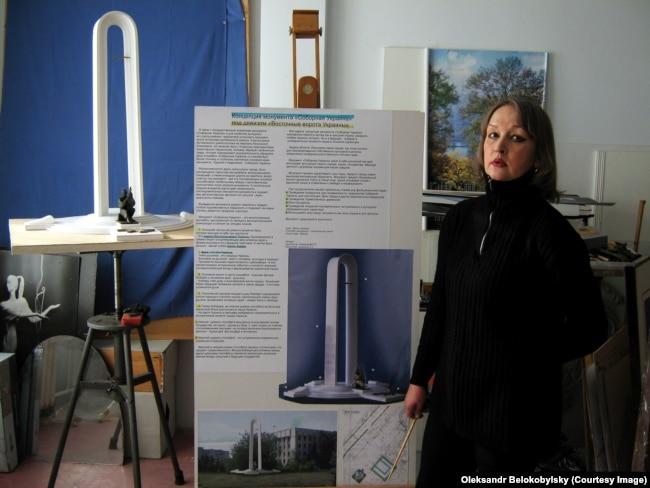 Авторка луганського проекту Катерина Домненко. 2009 рік