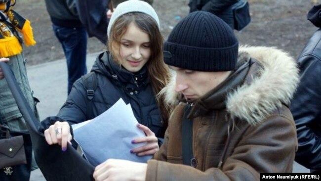 Рыжов на акции памяти жертв теракта в Волгограде, 2013 год