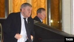 Леонід Кучма в Мінську, 10 лютого 2015 року