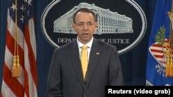 U.S. Deputy Attorney General Rod Rosenstein