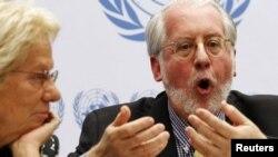 باولو بينيرو، رئيس لجنة التحقيق الدولية في سوريا