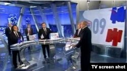 "Теледебаты на канале ""Россия"""