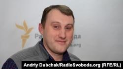 «Ukrain evi» Qırımnıñ iş ve medeniyet işbirligi merkezi» cemaat teşkilâtınıñ reisi Andrey Şçekun