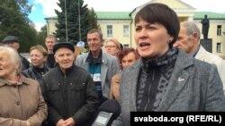Тацяна Караткевіч у Бярозе