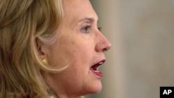 2010 yil iyulidan dekabr oyigacha bo'lgan muddatni o'z ichiga olgan hisobotni AQSh Davlat kotibi Hillari Klinton AQSh Davlat kotibi Hillari Klinton taqdim qildi.