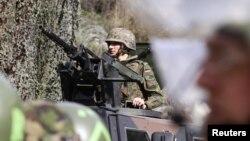 Ushtarë gjermanë të KFOR-it...