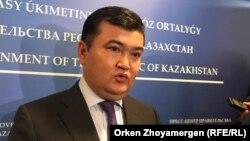 Вице-премьер Казахстана Женис Касымбек.