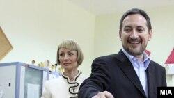 Архивска фотографија, поранешниот премиер и поранешен претседател на ВМРО-ДПМНЕ Љупчо Георгиевскки