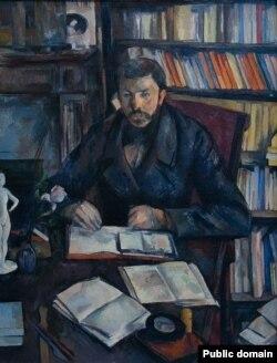 Поль Сэзан, «Партрэт Гюстава Жэфруа» (1895)