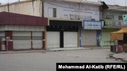 اضراب اصحاب دكاكين في حمام العليل احتجاجا على اوامر نصب كامرات مراقبة