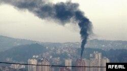 Najveći zagađivači su individualna ložišta (na slici: Užice)