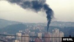 Zagađenje u Užicu, arhivska fotografija